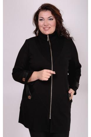 Женский черный жакет «Хит»